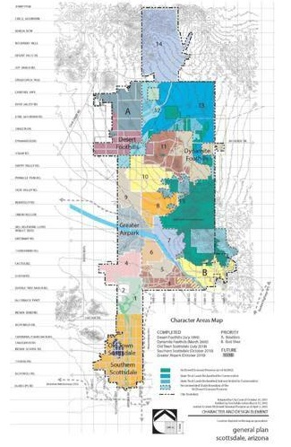 Scottsdale land use map example